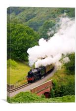 Yorkshire Coast Express, Canvas Print