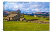 Swaledale, North Yorkshire., Canvas Print