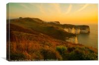 Silex Bay, Flamborough Head, Canvas Print