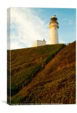 Flamborough Head Lighthouse, , Canvas Print