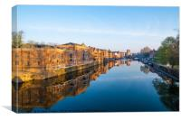 River Ouse, York, Canvas Print
