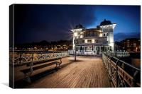 Penarth Pier Pavilion, Canvas Print