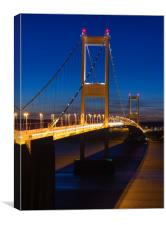 First Severn Crossing, Canvas Print