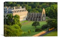 Morning Sunlight over Holyroodhouse Palace, Canvas Print