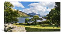 Loweswater , Canvas Print