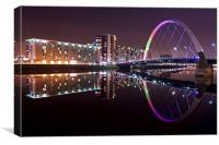 The Clyde Arc, Canvas Print