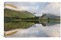First light at Kilchurn Castle, Canvas Print
