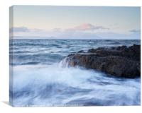 Dunure Beach, Canvas Print