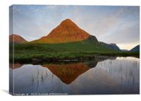 First Light in Glencoe, Canvas Print