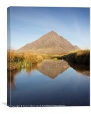 The Buachaille Reflected, Canvas Print