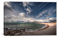Chesil Cove, Canvas Print