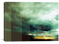Outside Insight, Canvas Print