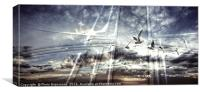 Heaven's Gate With Birds, Canvas Print