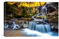 Scaleber Force in The Yorkshire Dales, Canvas Print