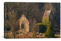St Mary's Church Tintern, Canvas Print