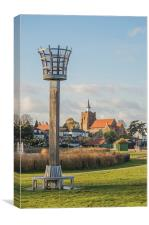 Maldon Beacon View, Canvas Print