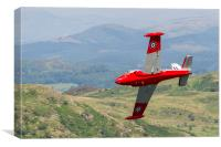 Jet Provost at the Mach Loop, Canvas Print