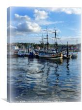 """Whitby Endeavour"", Canvas Print"