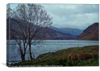 """""""Storm clouds at Ennerdale Water"""", Canvas Print"""