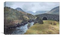 """""""Misty day in Wasdale valley"""", Canvas Print"""