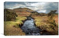 """Stormy skies over Wasdale valley"", Canvas Print"