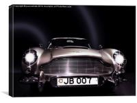 ASTON MARTIN DB5, Canvas Print