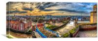 Hull on the Rooftops, Canvas Print