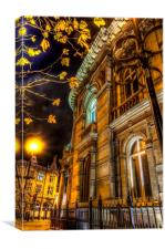 Victorian Architecture , Canvas Print