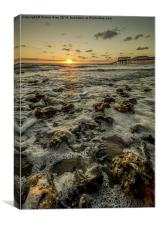 Cromer Sunrise , Canvas Print