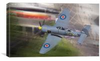 Sea Fury, Canvas Print