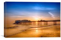 Cromer Sunrise, Canvas Print