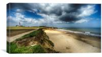 Happisburgh, Canvas Print