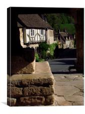 The Street, Castle Combe, Wiltshire, Canvas Print