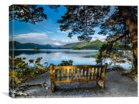 Friers Crag View Derwentwater, Canvas Print