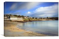 Towards the Idle Rock Hotel (St Mawes), Canvas Print