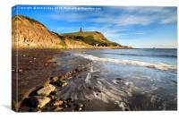 Wave Pattern at Kimmeridge by Andrew Ray, Canvas Print