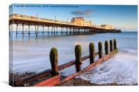 Pier and Groyne (Worthing), Canvas Print