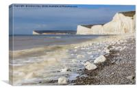 Towards the Seven Sisters, Canvas Print