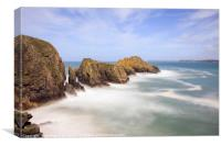 Merope Rocks, Mother Ivey's Bay, Canvas Print