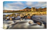 Moy Castle (Loch Buie), Canvas Print