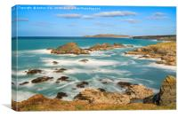 Porth Mear Cove, Canvas Print