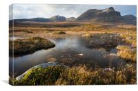 Quinag Morning, Canvas Print
