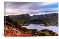 View of Patterdale, Canvas Print