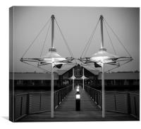 Symmetry in Dundee, Canvas Print