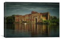 Modlin Fortress grain storage, Canvas Print