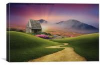 the pathway to heaven , Canvas Print