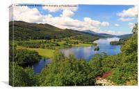 Queens View -  Pitlochry, Canvas Print