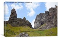 The old man of Storr  Isle of Skye, Canvas Print