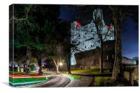 Rochester Castle, Canvas Print