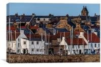 Anstruther Rooftops, Canvas Print